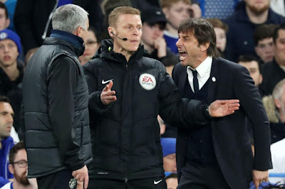'I DON'T SPEAK TO ANTONIO CONTE' - MOURINHO