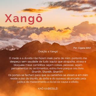 Oração a Xangô