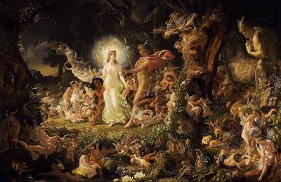 La disputa de Oberon y Titania, Joseph Noel Paton