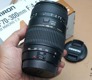 Jual Lensa Tamron 70-300mm For Canon