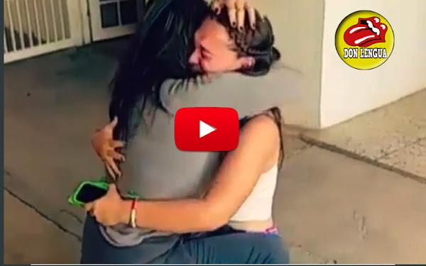 Madre refugiada venezolana se reencontró con su hija tres años más tarde
