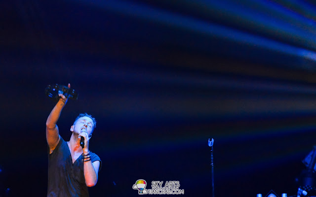 """Reach to the sky"" - OneRepublic Native Live in Malaysia 2013"