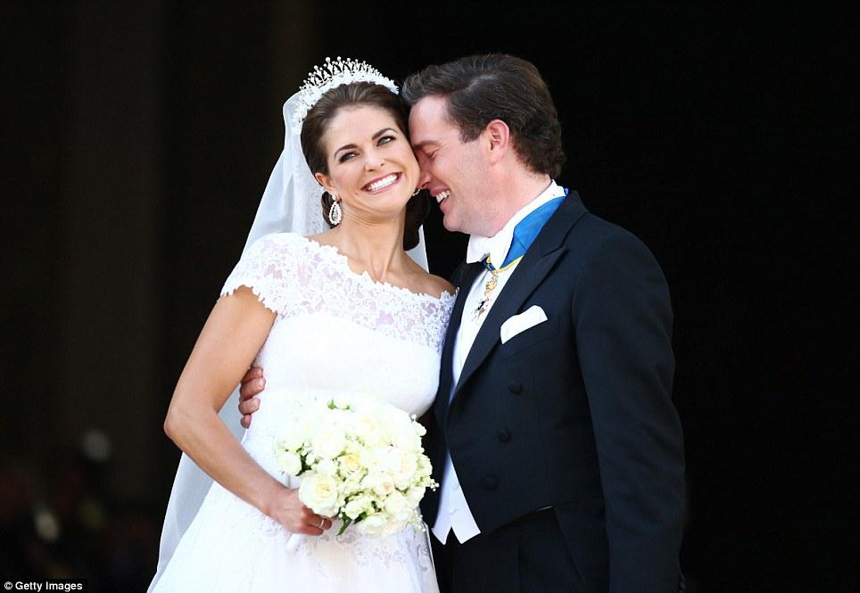 Real Royal Weddings: Wedding Of Princess Madeleine And Chris O'Neill