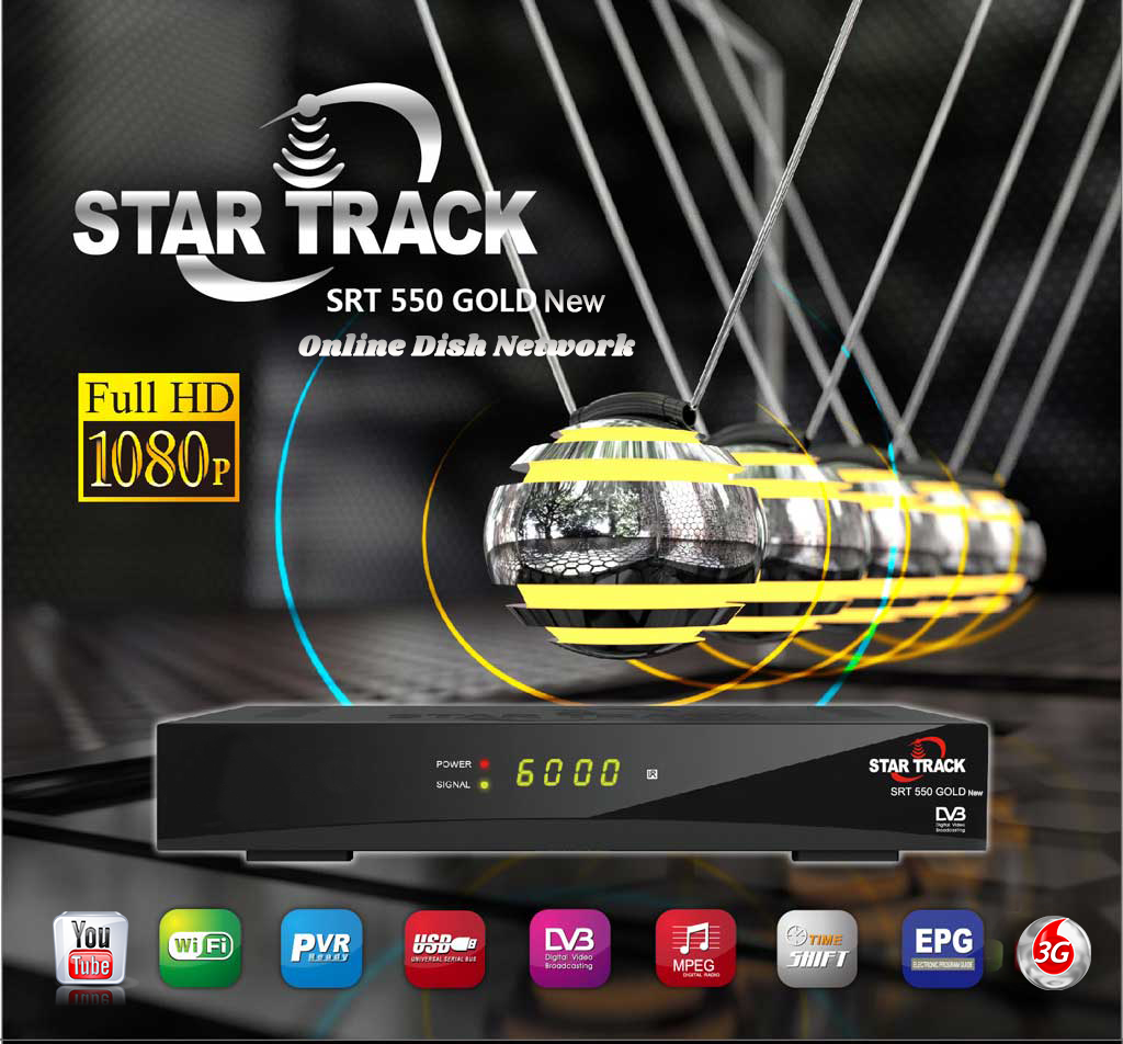 Star Track SRT 550 Gold New HD Receiver Software