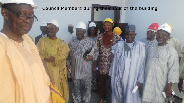 Nigerian Society of Engineers, NSE Council Holds Maiden Meeting in NEC Phase II