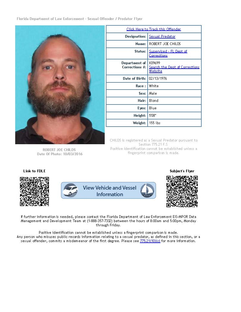 Florida Department Of Corrections Offender Search