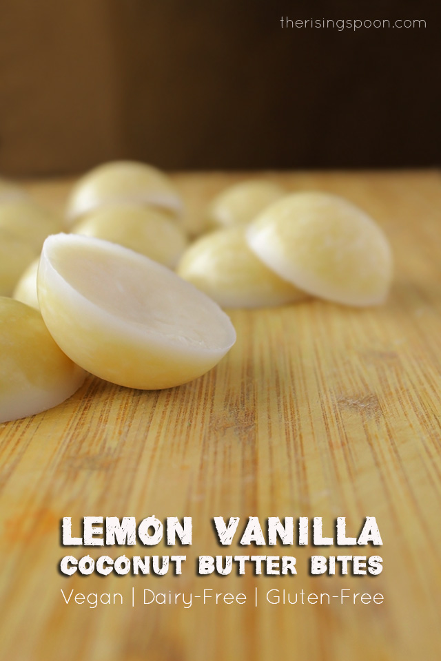 Best of 2015: Lemon Vanilla Coconut Butter Bites