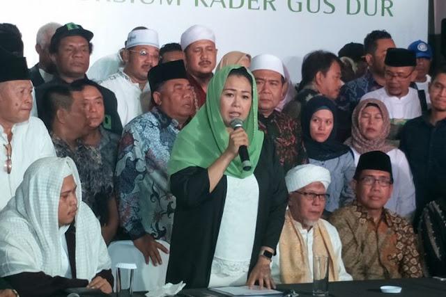 Alasan Keluarga Gus Dur Dukung Jokowi - Kiai Ma'ruf di Pilpres 2019