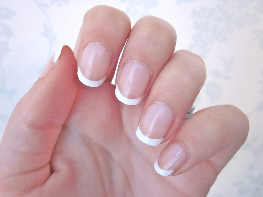 Converse French Manicure