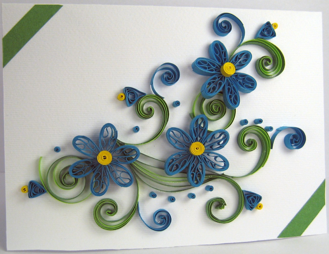 2015 Handmade Quilling Birthday Greeting Card Designs for ...