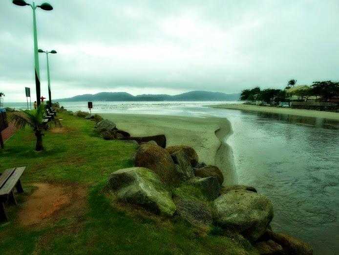 Rio Perequê, entre Itapema e Porto Belo