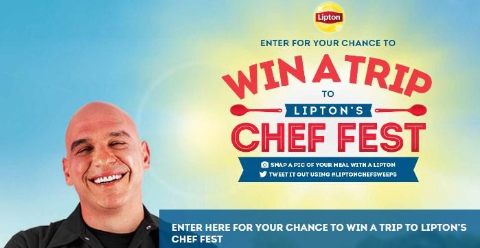 Win with chef sweepstakes