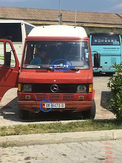 Fonctionnement des bus en Albanie
