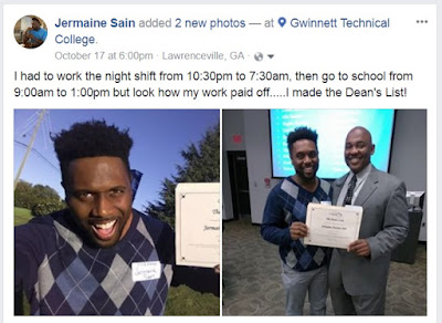 Gwinnett Technical College- Jermaine Sain
