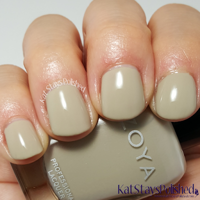 Zoya Whispers 2016 - Misty | Kat Stays Polished