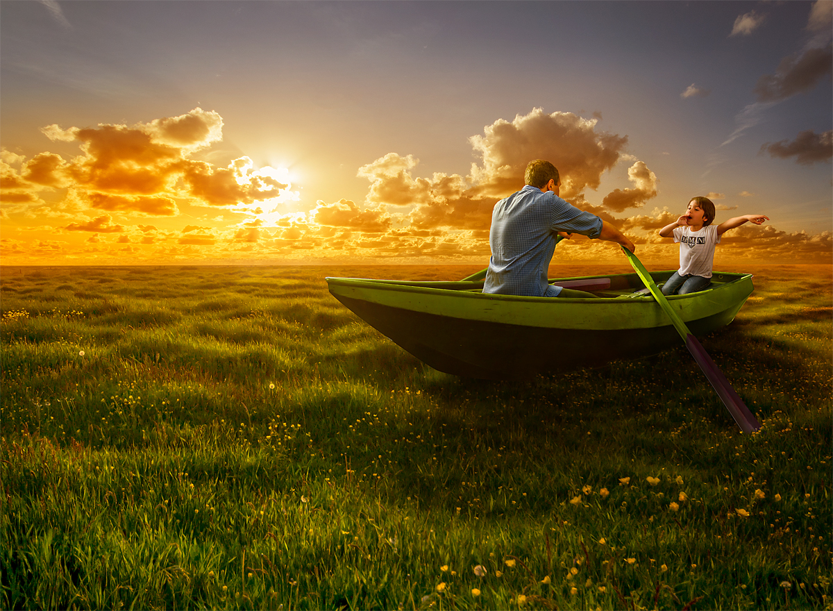 12-Sea-of-Green-Adrian-Sommeling-Surreal-Photo-Manipulation-with-a-Son-s-Help-www-designstack-co