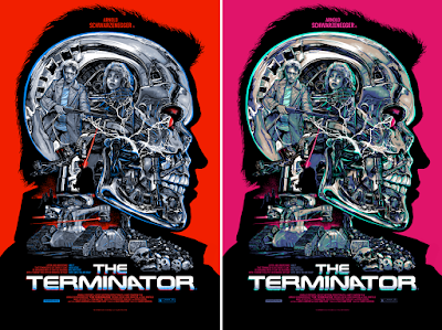 The Terminator Screen Print by Christopher Cox x DaVinci's Dreams