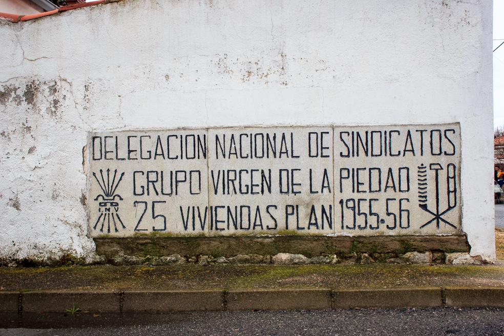 Protección Oficial en los 50, El Barraco, Avila 2014