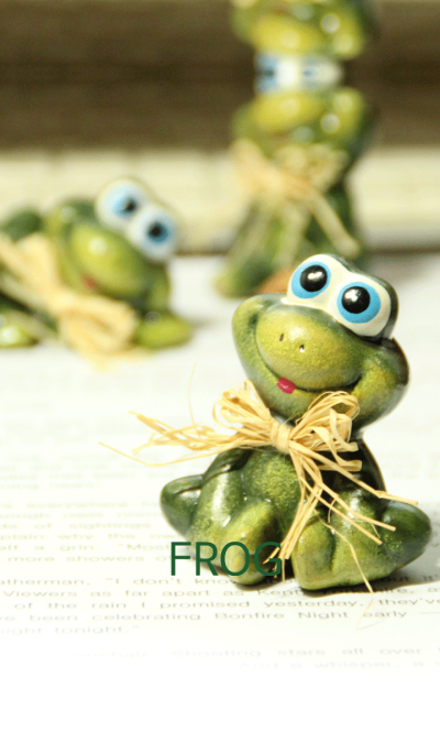 green frog_01