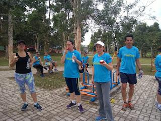 4K Clube na Aula Aberta de Educação Ambiental e Atividades Físicas no Jardim Brasil
