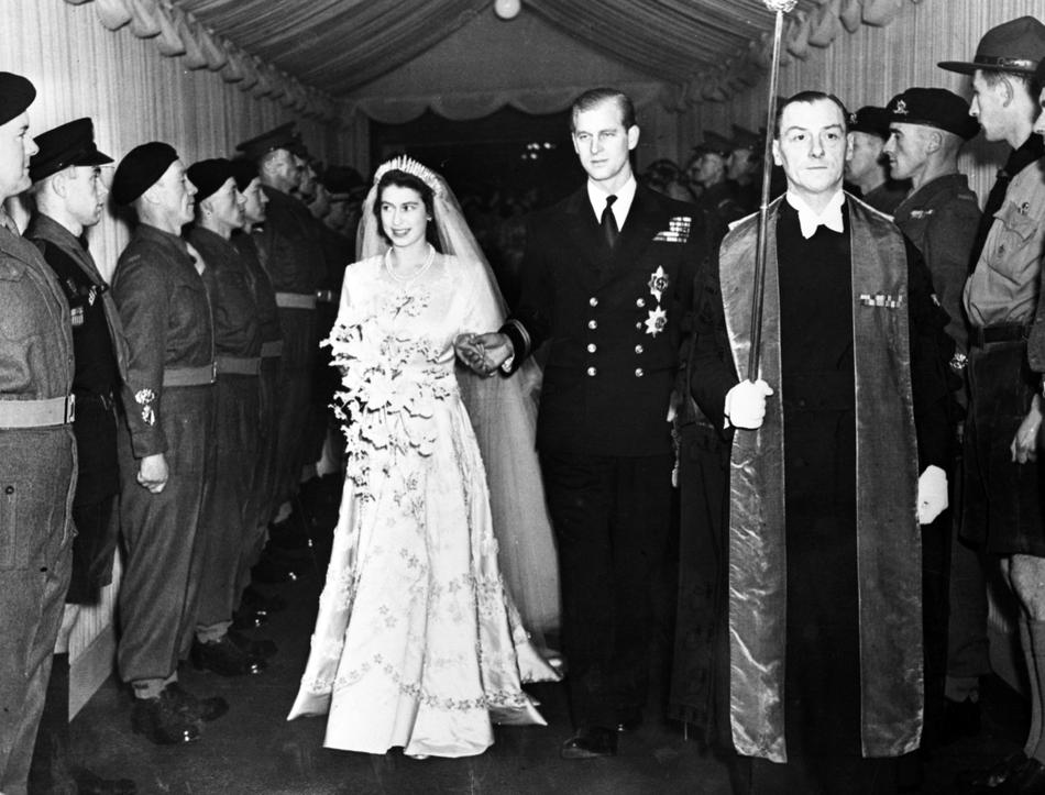 Queen philip wedding