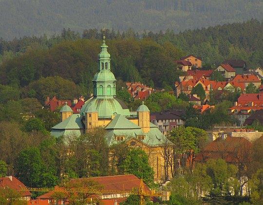 Kościół Podwyższenia Krzyża Świętego w Jeleniej Górze.