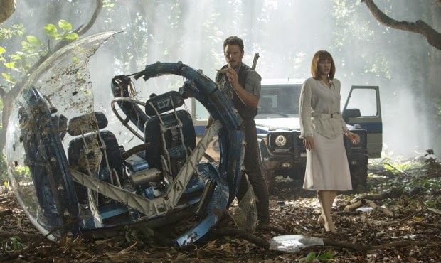 Jurassic World Chris Pratt Bryce Dallas Howard