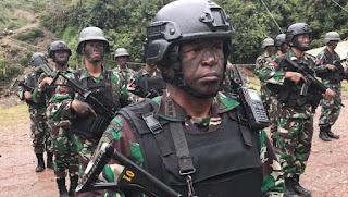 Kejar Teroris OPM di Papua, 2 Anggota TNI Tertembak