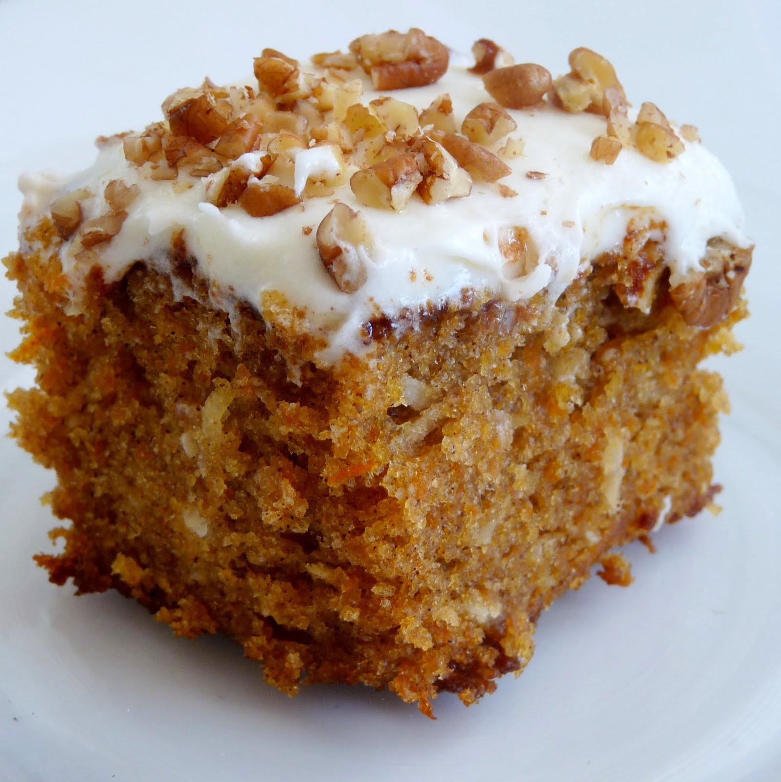 Whats for Dinner Moist Orange Carrot Cake