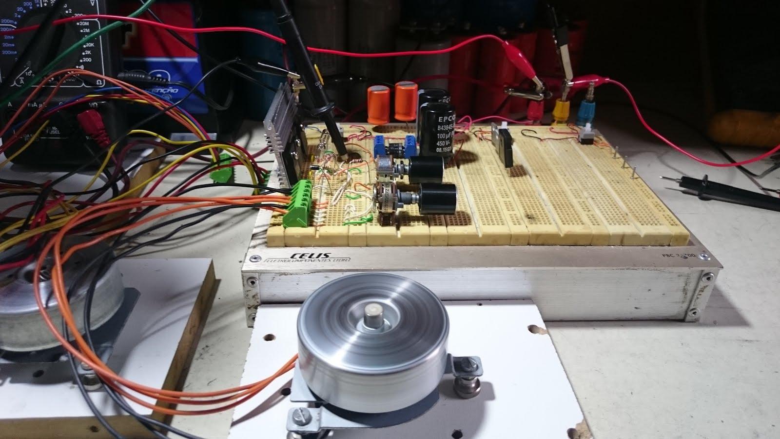 5c3dfcb1154 Foco Eletrônico  Projeto  Gerador de Pulsos com Motor Nidec ...