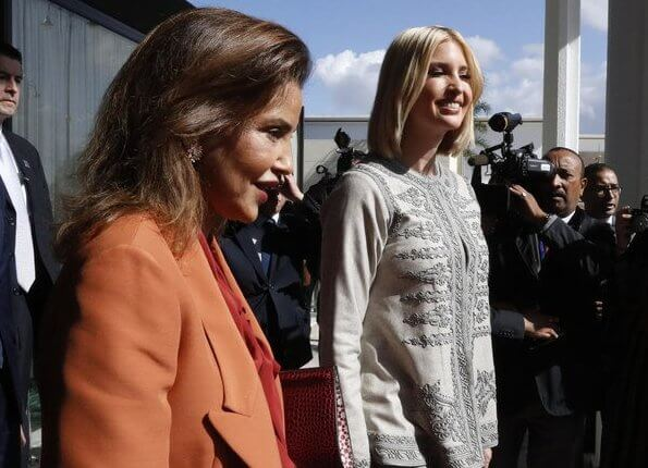Princess Lalla Meryem, the sister of King Mohammed of Morocco, hosted a royal dinner in honor of Ivanka Trump