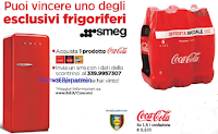 Logo Con Coca-Cola e Lidl vinci 35 frigoriferi Smeg
