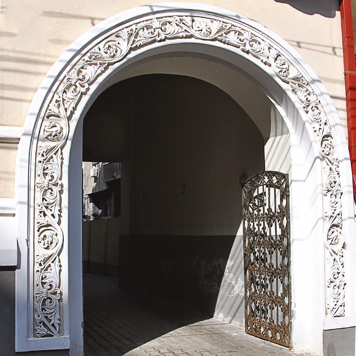 arcada neoromaneasca, elemente decorative, profile neoromanesti, profile fatada