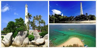 Keeksotikan dan keindahan pulau lengkuas bangka belitung