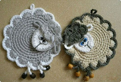 Crochet Jobs : Crochet Potholder + Videos - Crochet Yarn Online
