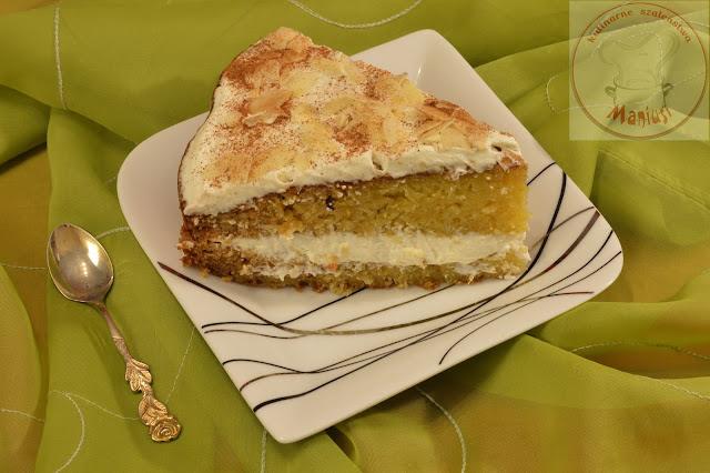 Ciasto dyniowe z kremem mascarpone
