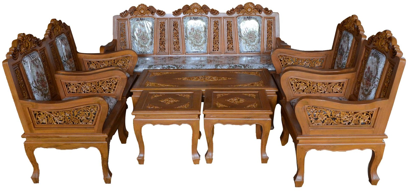 Thailand carved furniture picture record for Thai furniture