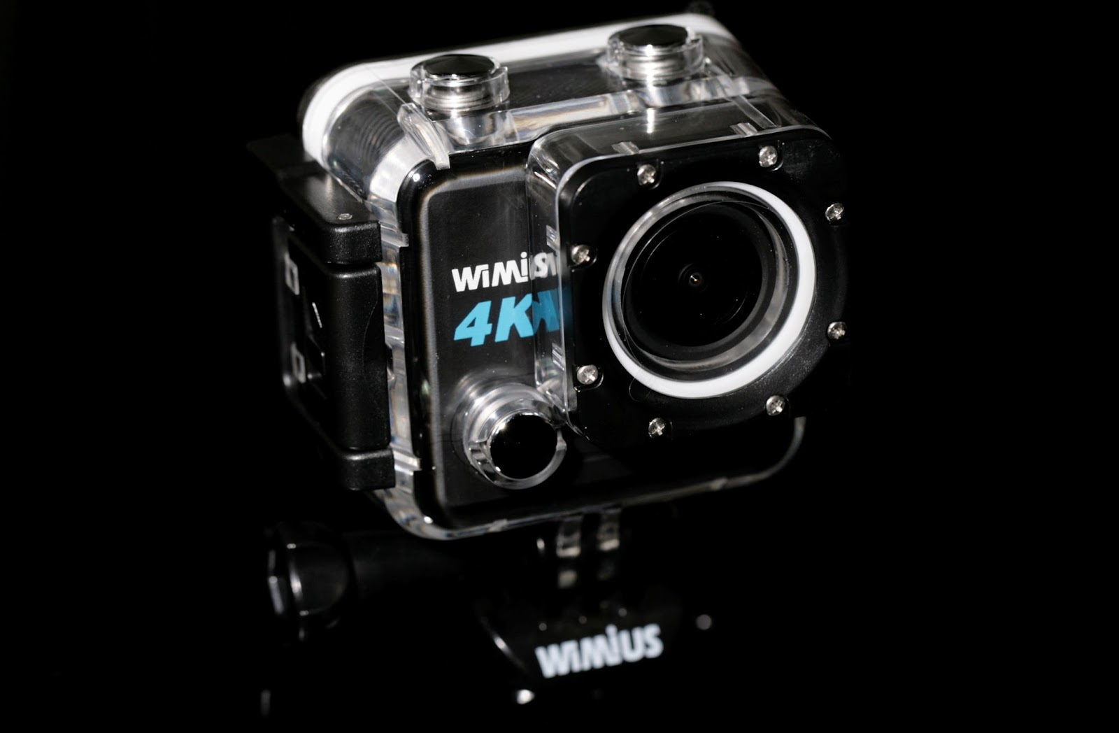 This Is A Review For WIMIUS 4K 20MP Sports Action Camera HD Cam WiFi Underwater 170 Wide View Angle 2 Inch LCD Screen Helmet