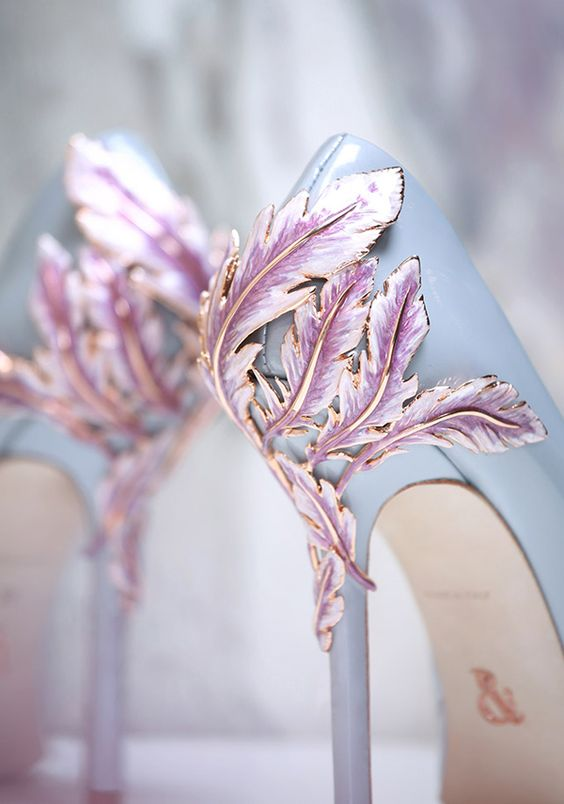 Stunning Wedding Shoes For Fairy Tale Princess Look