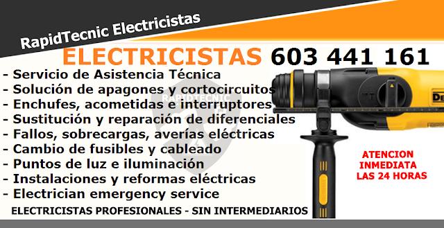 Reparamos electricista sijar de baix castell n 603 441 161 - Electricistas en castellon ...