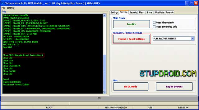 How to Reset FRP on Mediatek Devices - StupDroid com