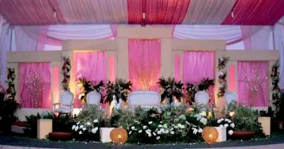 dekorasi pernikahan paling mewah