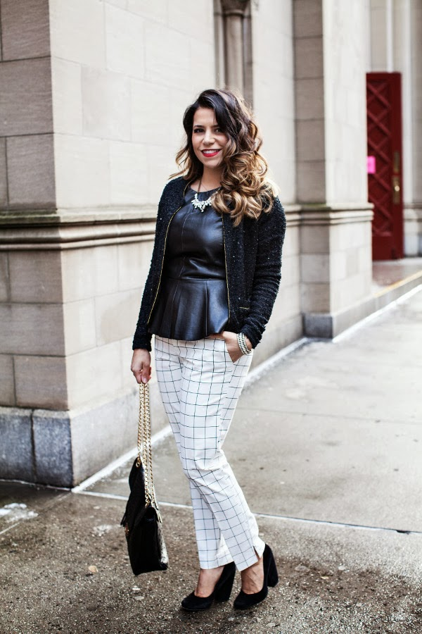 The Corporate Catwalk By Olivia How To Wear A Leather