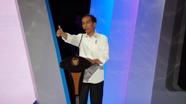 Di Depan Sandi, Jokowi Cerita Sulitnya Kelola Negara Sebesar Indonesia