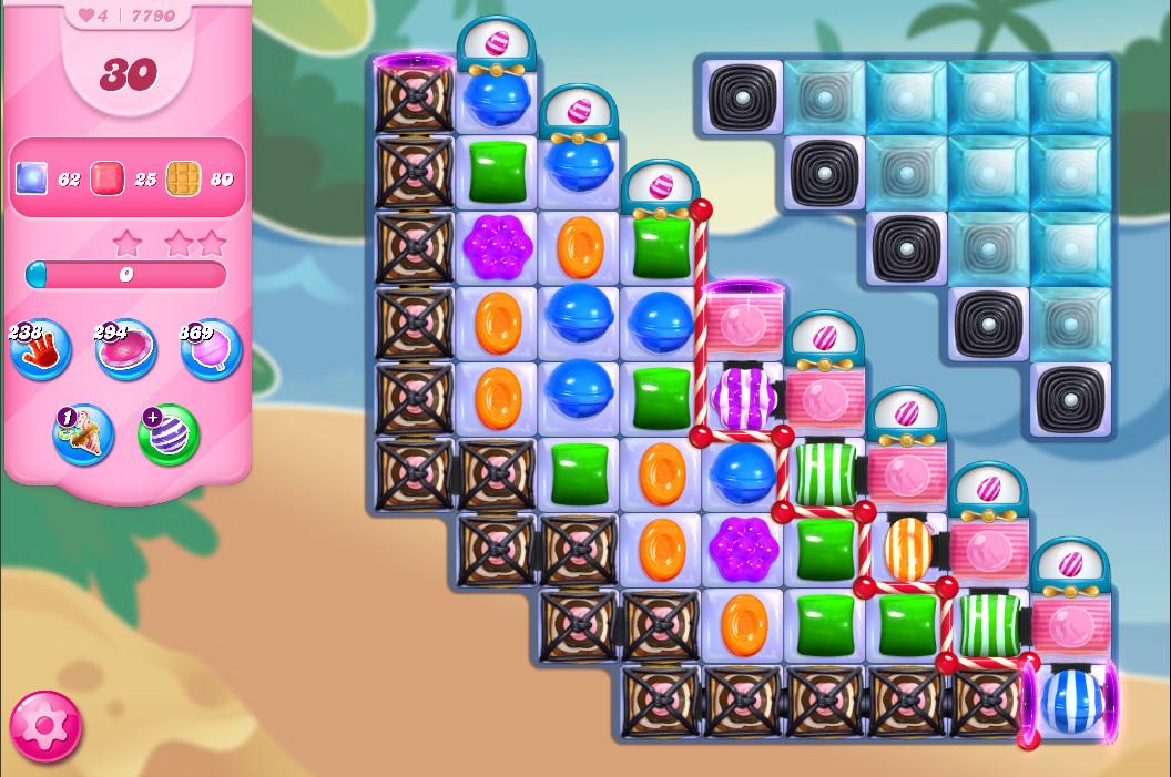 Candy Crush Saga level 7790