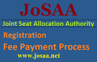 JoSAA 2017 Fee Payment Process