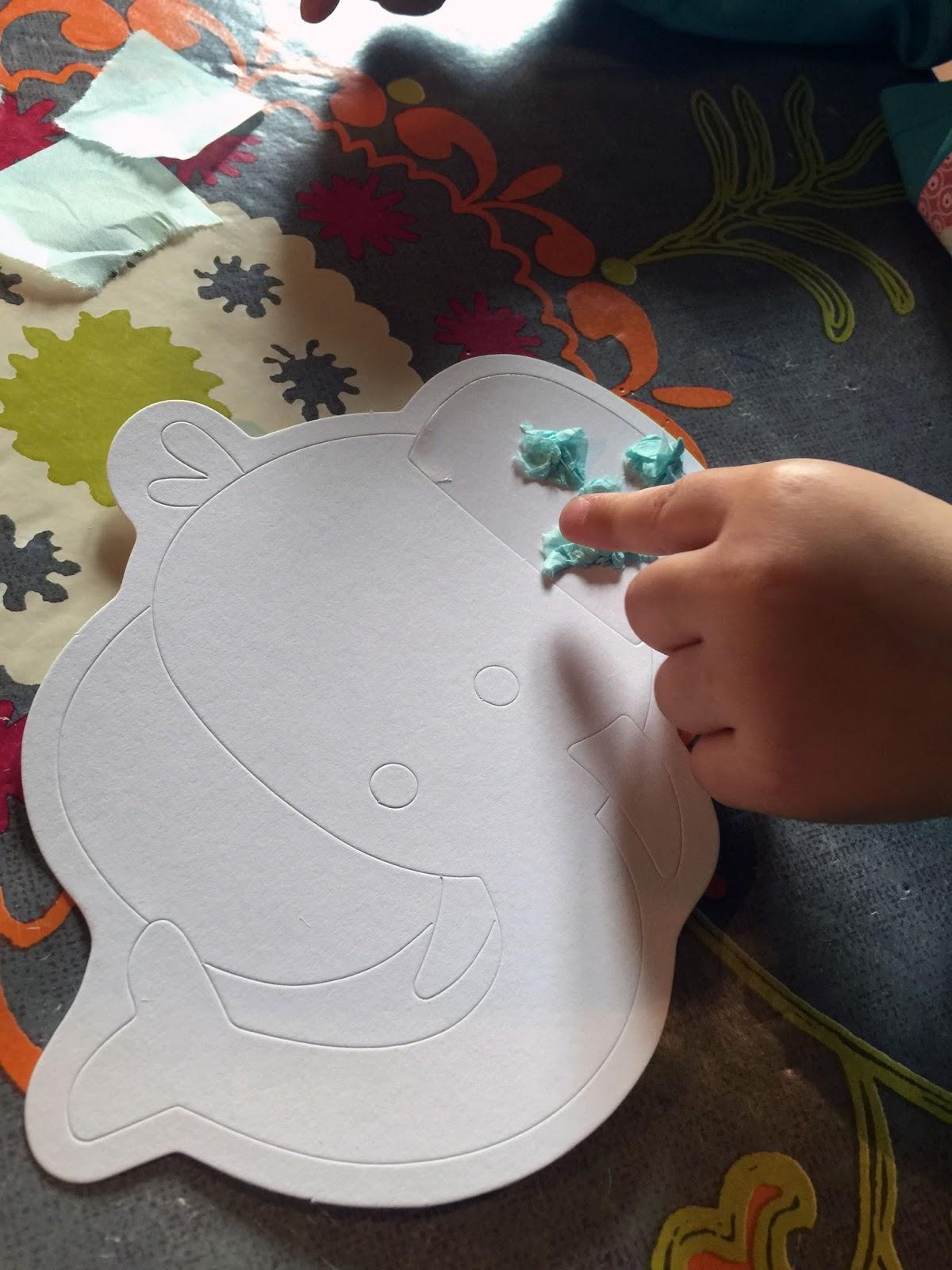 activité papier froissé bébé JPG
