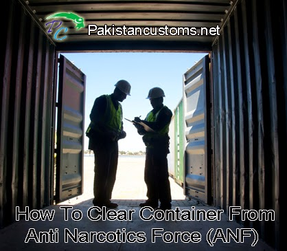 How to Clear Container From ANF Examination