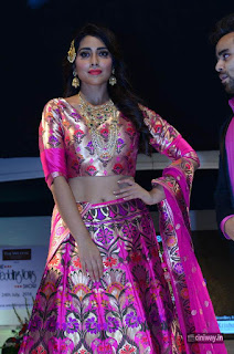 Shriya Saran Stills at Wedding Wows Fashion Show