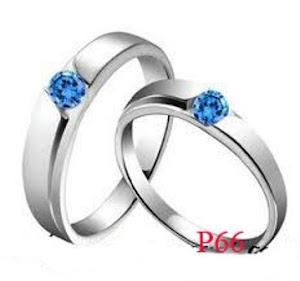 cincin pernikahan couple harga murah Kode cincin P66
